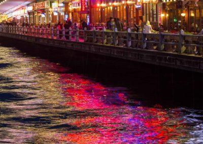 Licht auf dem Wasser Istanbul