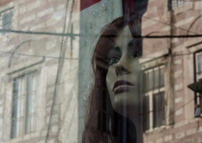 Schaufensterpuppe aus Industriegebäude Istanbul