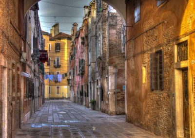 Straßenzug Venedig