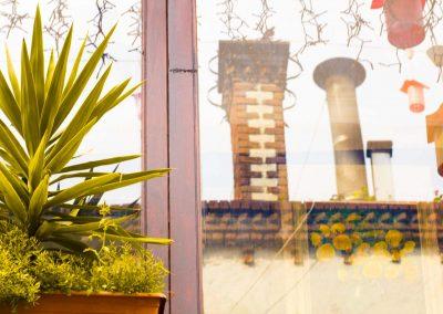 Terrassenimpression Istanbul