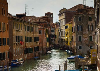 normale Straße Venedig